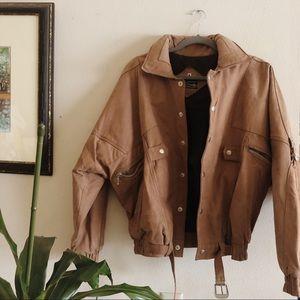Jackets & Blazers - Oversized Leather Jacket 🌪